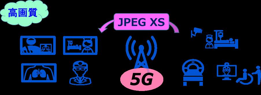 JPEG XS 医療向け使用例